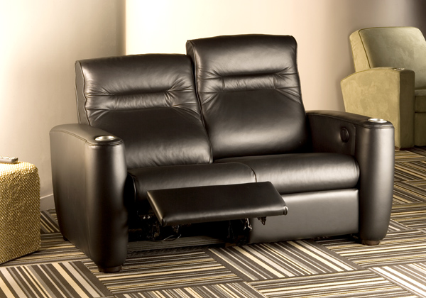Salamander home theater furniture is in roanoke va at uptown audio Loveseat theater seating