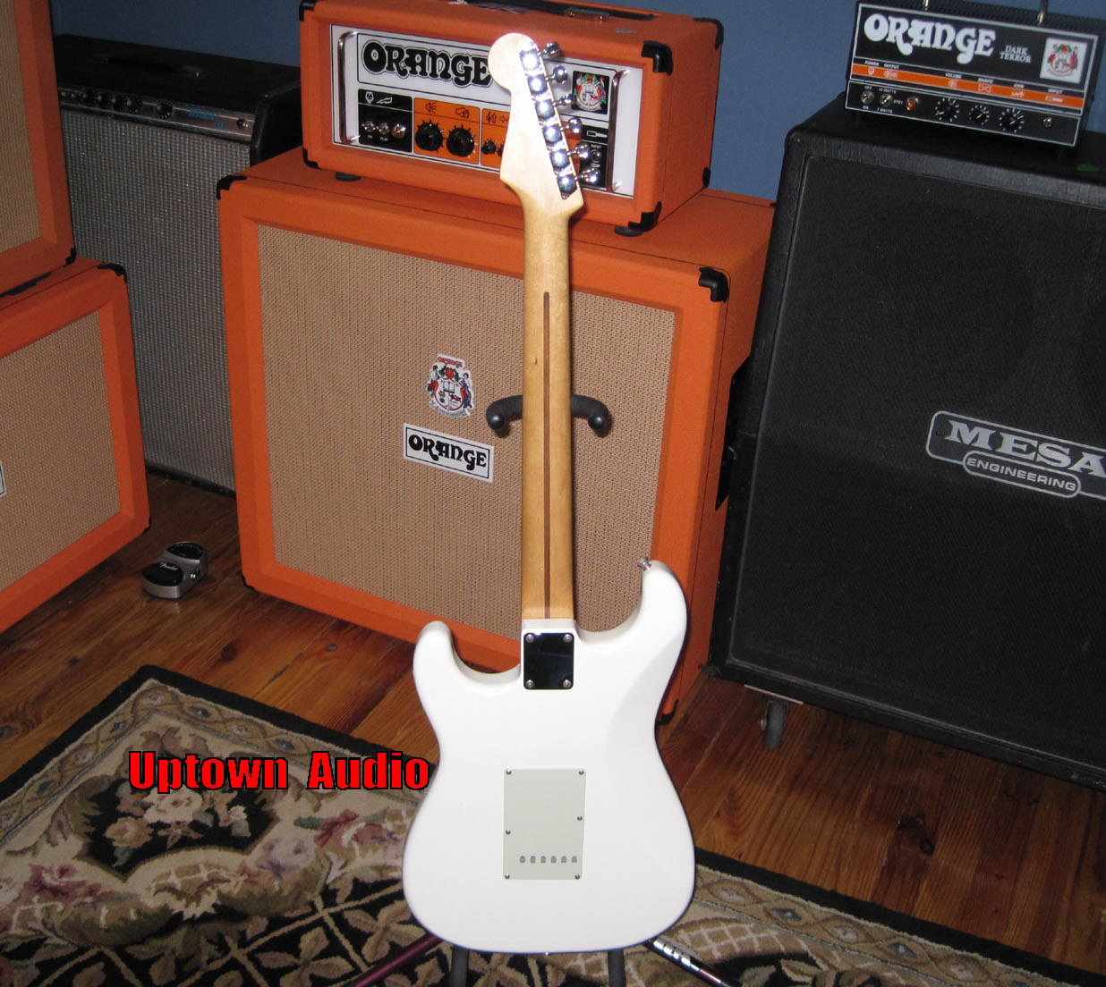 Used Guitars Amps Hamer Centaura Guitar Wiring Harness Lead Position And A Heavy Growl From The Neck Similar To Stevie Ray Vaughan Strat You Will Get Tweed Hard Shell Case With